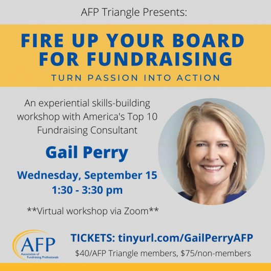 Fire up your board for fundraising
