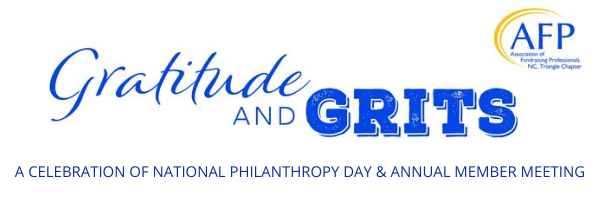 Gratitude and Grits - Celebration of National Philanthropy Day and annual member meeting